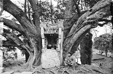 A Roadside Shrine, Taiwan by John Thomson