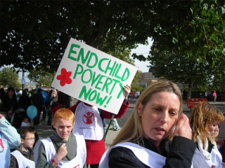 End Child Poverty Rally by Need NOT Greed on Flickr