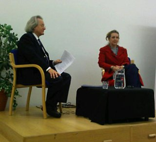 A C Grayling (left) and Dr Gwen Adshead (right)