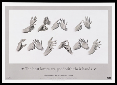 British Deaf Association, 'The best lovers are good with their hands'. Wellcome Library/Wellcome Images