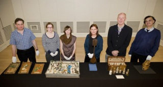 All the First Time Out objects together with their curators. Wellcome Images