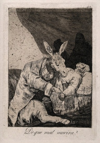 Francisco José de Goya, 'Of What Ill Will He Die?'. Wellcome Images
