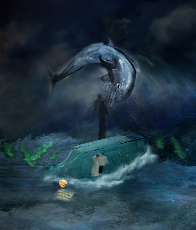 Melanie Winning: Dolphin wedding