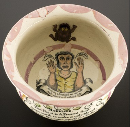 Earthenware chamber pot. Wellcome Images