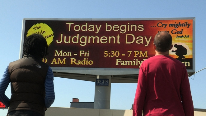 Judgment Day Billboard. Aniku Ltd
