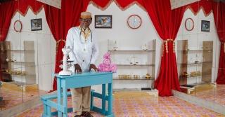 Pata Picha Studio Photograph, 2012. One of a series of portraits taken in Kilifi, Kenya. By Miriam Syowia Kyambi and James Muriuki.