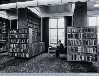 The Reading Room in 1962.
