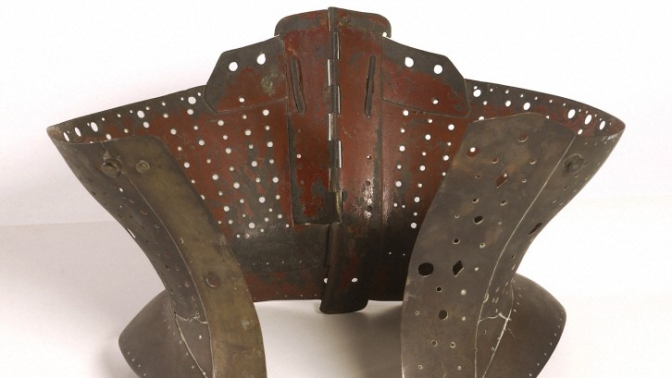 Object of the month: Brass Corset