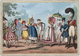 Monstrosities of 1818.