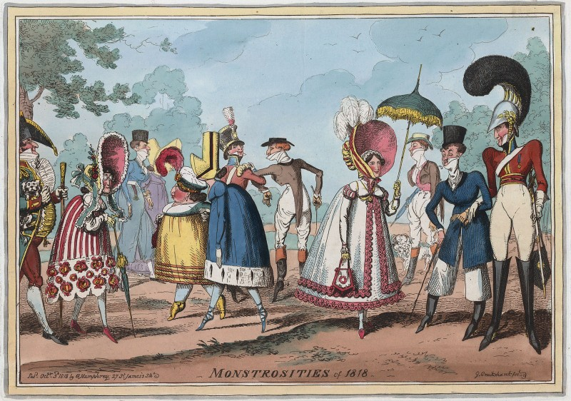 Monstrosities of 1818.