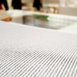 A look inside one of the books in the human genome library.