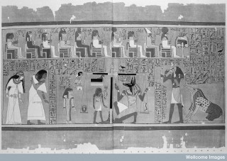 Book of the Dead, Anubis weighing the heart.