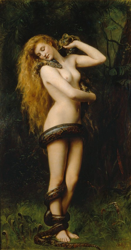 Lilith by John Collier, 1892.