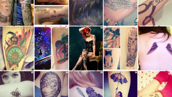A to Z of the Human Condition: S is for Skin Art
