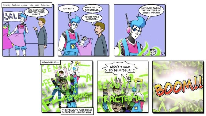 The Transvengers webcomic