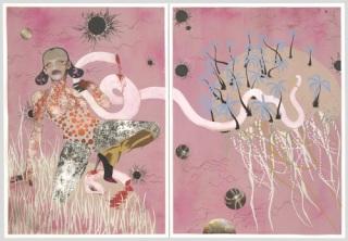 Wangechi Mutu, Yo Mama, 2003. (© 2015 Wangechi Mutu)