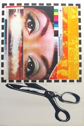 Joe Tilson, Cut Out and Send, 1968. (© 2015 Joe Tilson / Artists Rights Society (ARS), New York / DACS, London)