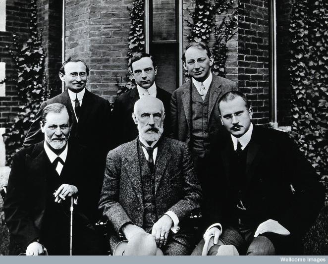 Sigmund Freud in 1909.