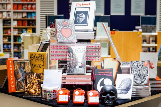 One of the displays in Wellcome Shop.
