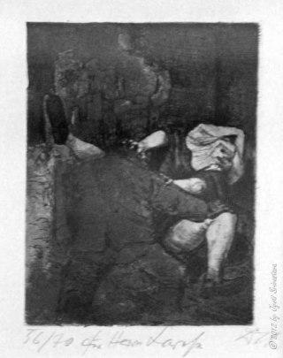 War, Otto Dix – Soldier and nun.