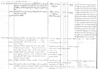 A page from the ledger.