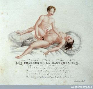 L0030564 Invocation a l'amour, c. 1825. Credit: Wellcome Library, London. Wellcome Images images@wellcome.ac.uk http://wellcomeimages.org Erotic vignettes.