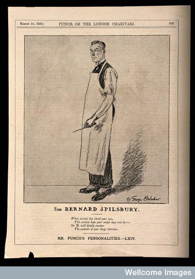Sir Bernard Spilsbury, a famous pathologist.