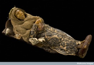 Wax model of a mummy, Europe (Credit: Science Museum, London).