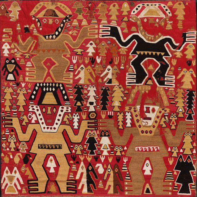 Chimu textile.