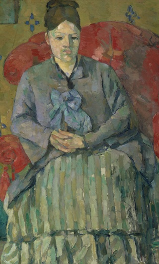 "Paul Cézanne, ""Madame Cézanne (Hortense Fiquet, 1850–1922) in a Red Dress"", ca. 1888-90. Oil on canvas. Courtesy of the Metropolitan Museum of Art, New York."