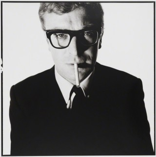 David Bailey, Michael Caine, 1965. Courtesy of the National Portrait Gallery, UK and the artist.