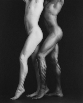 Robert Mapplethorpe, Ken and Tyler, 1985. Courtesy of the Guggenheim Museum, NY and the artist.