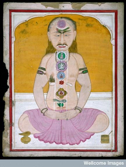 L0026940 Tantrika painting, Sanskrit MS 511