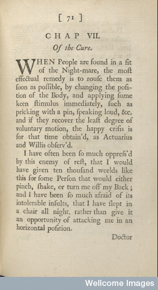 "L0078963 Page 71 from ""An essay on the incubus, or night-mare"""