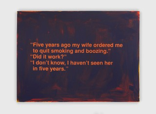 Richard Prince, Untitled (Five Years Ago My Wife), 1998. (Courtesy of the artist.)