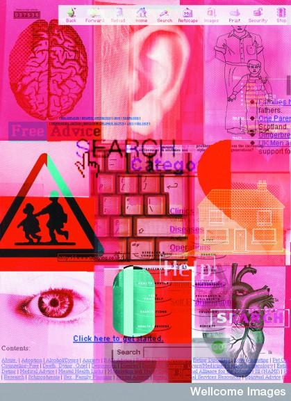 B0003323 Internet self help - composite artwork