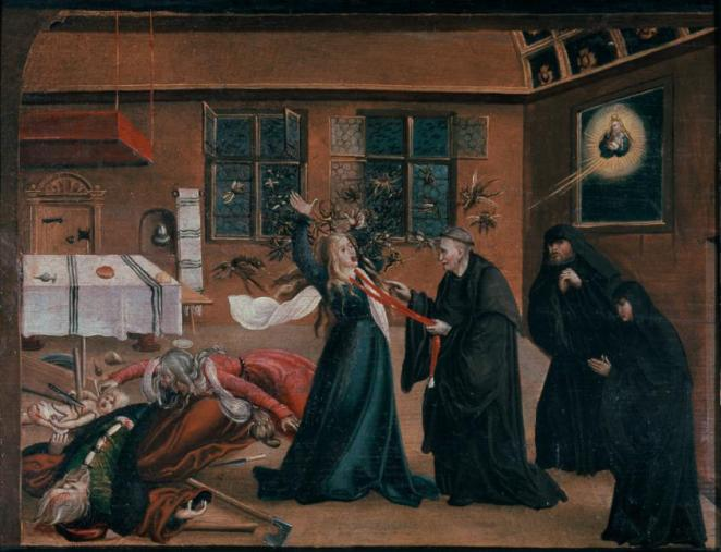 Exorcism in the 16th century.