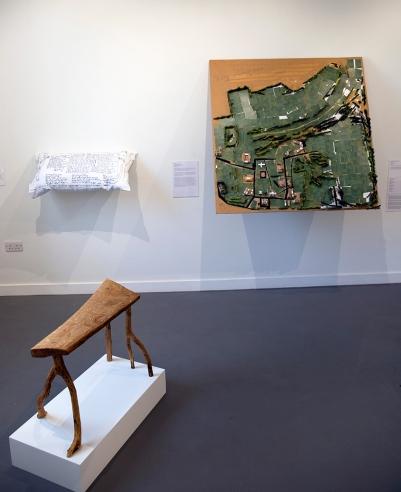 Matthew's sculpture in 'Reclaiming Asylum'.
