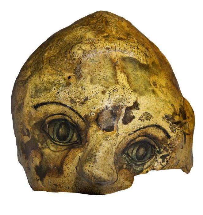 The Skull, byGwyneth Rowlands. (Courtesy of the Adamson Collection Trust)