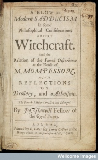 A blow at modern Sadducism in some philosophical considerations about witchcraft.