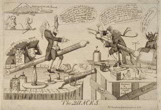 James Graham and Gustavus Kattefelto, both electrical 'showmen', were regarded as quacks by contemporary commentators.
