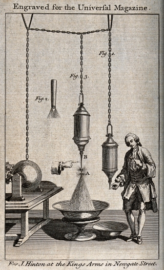 Part of the appeal of electrical demonstrations was their undeniable frisson of danger for participants.